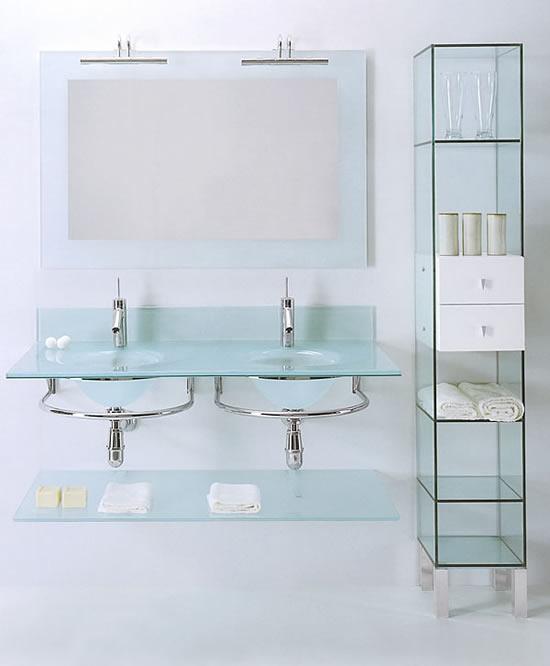 Lasa idea spa arredobagno made in italy siena for Estanterias de cristal baratas